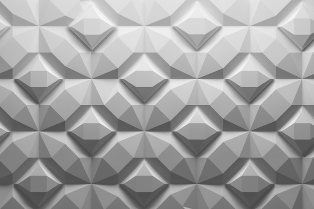 Pattern made of structured geometric shapes