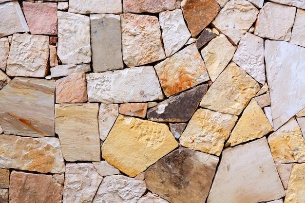 Шаблон декоративного красочного фона каменной стены
