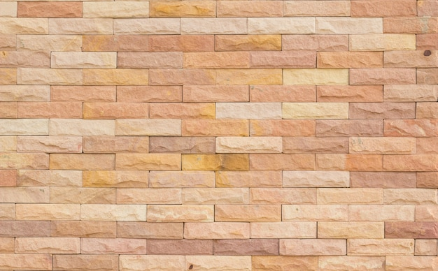 장식 돌 벽 표면의 패턴