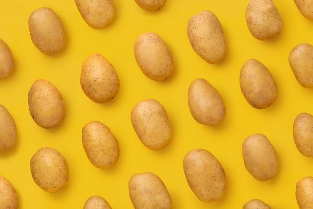 천연 감자의 패턴