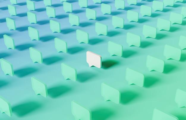 중앙에 흰색이 있고 그라데이션 색상이있는 반투명 주석 상자 패턴