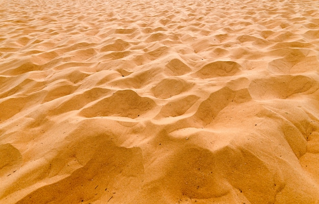 Pattern of red sand dunes binh thuan, vietnam. mui ne