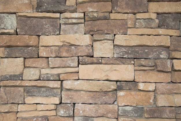 Pattern of stone wall background