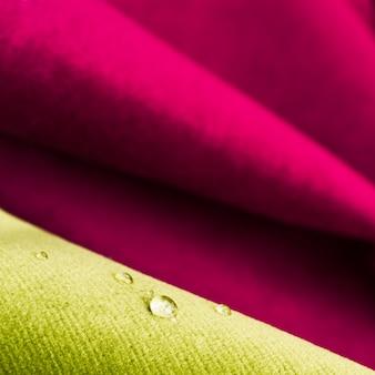 パターン織物材料テクスチャの背景