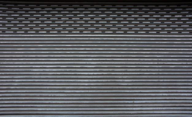 Pattern of vintage metal door