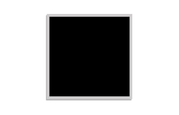 白い背景の上の黒い四角のパターン