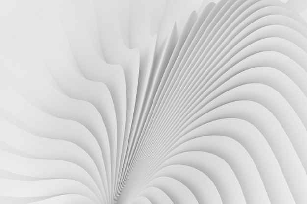 Pattern with the image of a wavy body structure