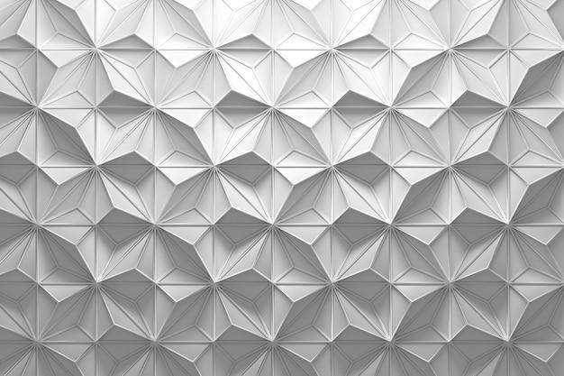 Шаблон со случайными пирамидами и каркасом