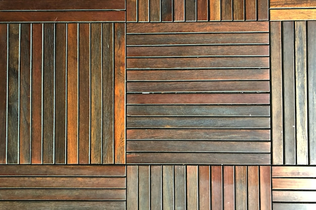 Pattern of wooden floor as the background texture