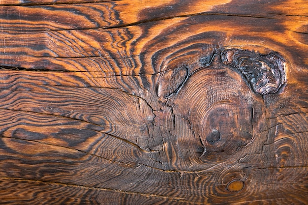 Patterned surface of the wood