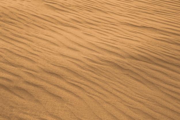 사막의 바람의 패턴