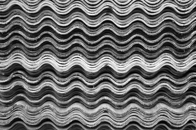Patterns of tiles for roofing background.