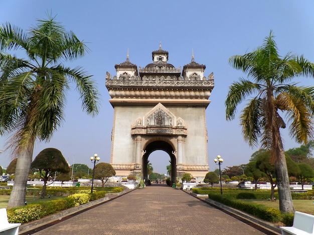 Patuxai or the gate of triumph