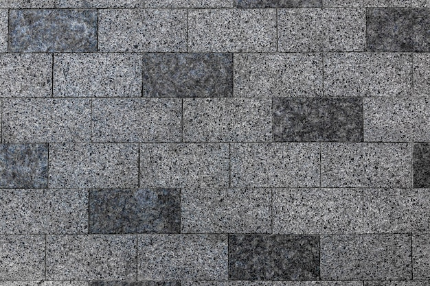 Pavement stone texture old brick floor pattern cobblestone sidewalk top view square construction exterior closeup gray slab patio mosaic granite wall