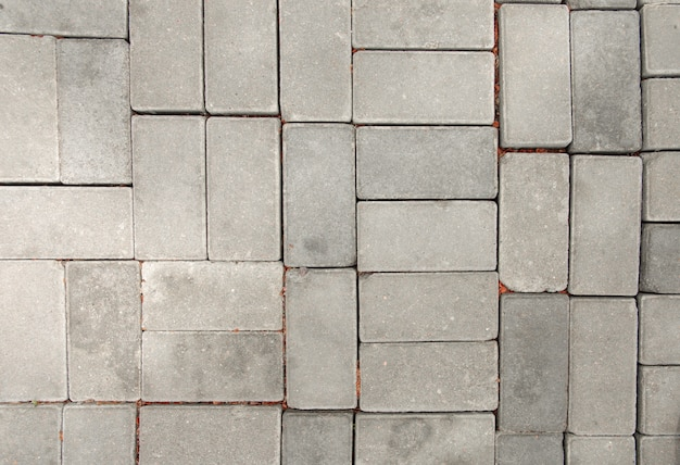 Pavers texture urban road gray concrete stones