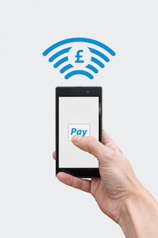 Pay with phone - pound currency symbol