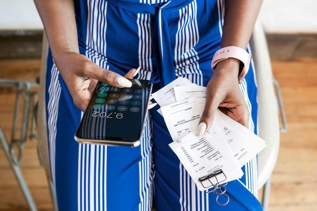 Paying bills online via internet banking