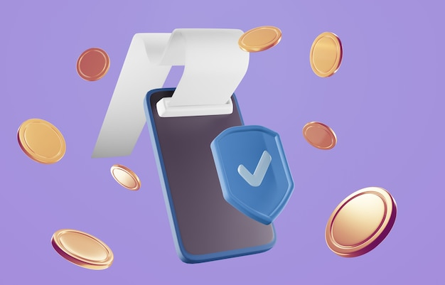 Оплата через концепцию кредитной карты. безопасная транзакция онлайн-платежей с помощью смартфона.