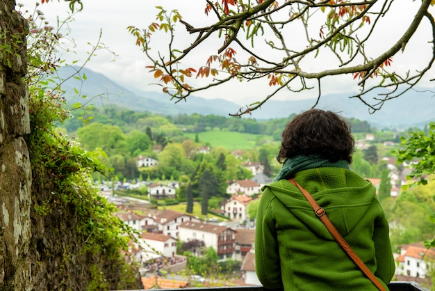 Pays basque, сен-жан-пье-де-порт на юге франции