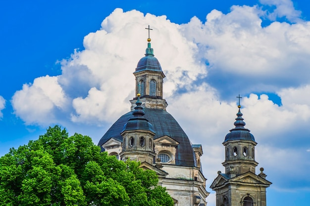 Pazaislis monastery and the church of the visitation, lithuania.