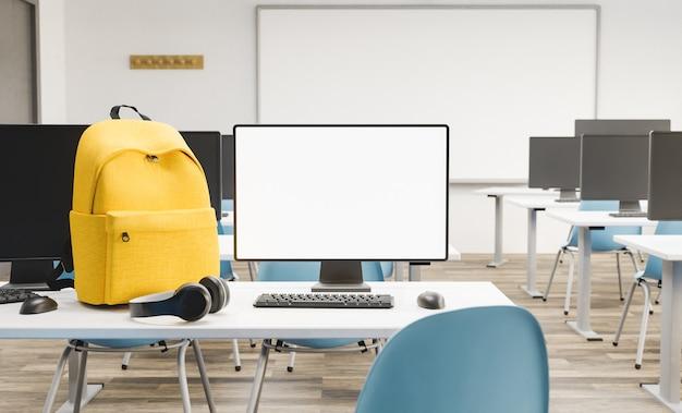 Макет монитора пк в классе