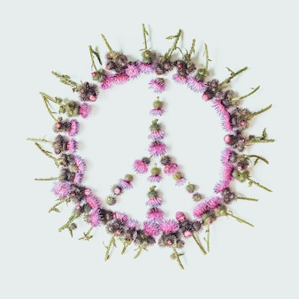 Peace sign (pacific)-a symbol of peace, disarmament and anti-war movement