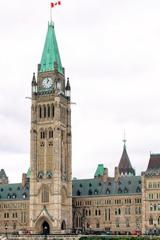 Peace tower in ottawa