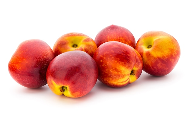 白で分離された桃の組成