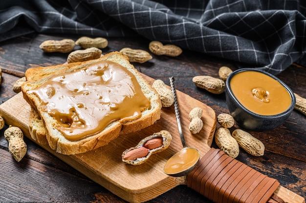 Peanut butter sandwich  toast