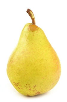 白で分離された梨