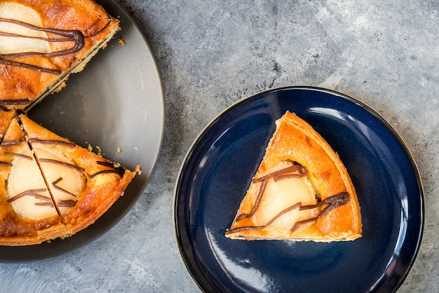 Pear pie or tart