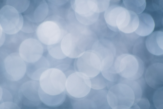 Pearl blue blur bokeh for background, luxury concept.