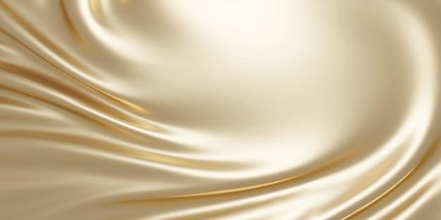 Жемчужная ткань фон с копией пространства 3d визуализации