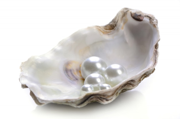 Pearls isolated