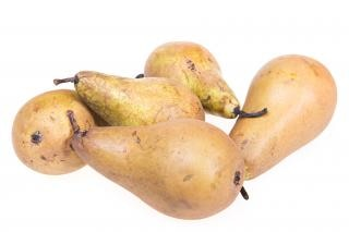 Pears, isolated