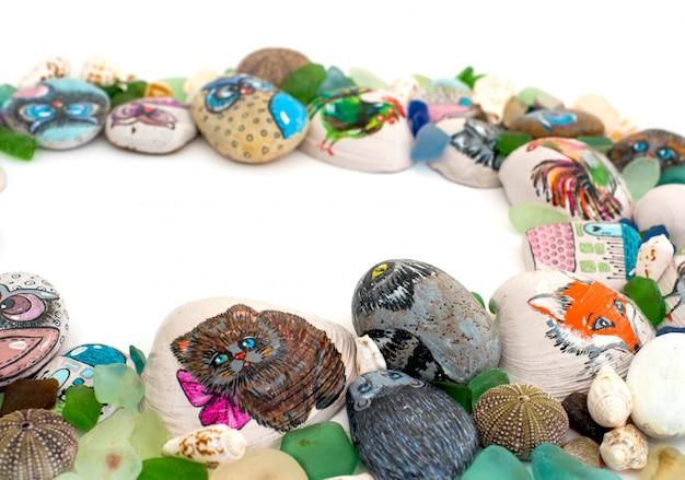 Pebble pattern.