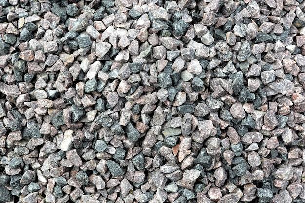 Pebbles arragement above view
