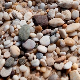 Pebbles on the Hampton shoreline