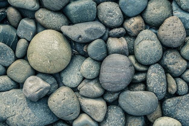 Камень из гальки с винтажным фильтром