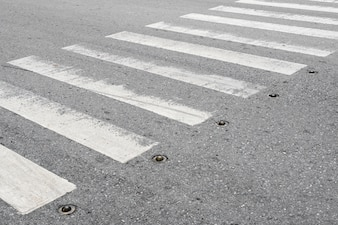 Pedestrian crossing zebra