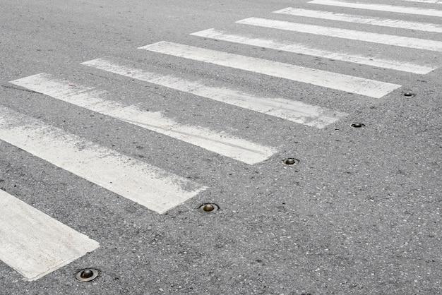 歩行者横断ゼブラ