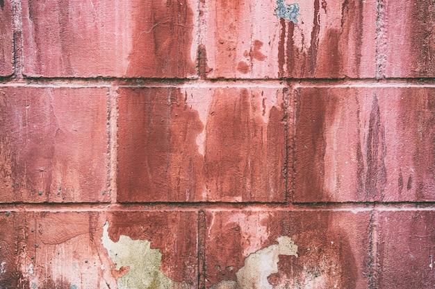 집 벽 배경에 페인트 필링