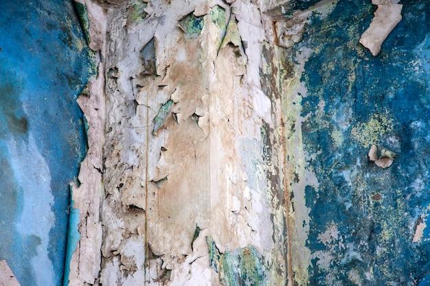 Пилинг краска на стене бесшовной текстуры.