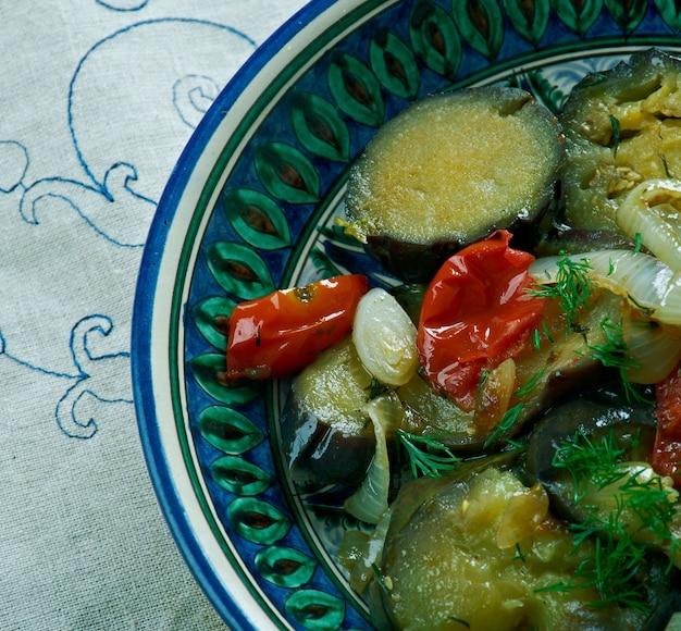 Pehli tarifi - 찐 가지 아나톨리아 요리