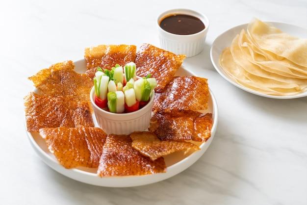 北京ダック-中華料理スタイル