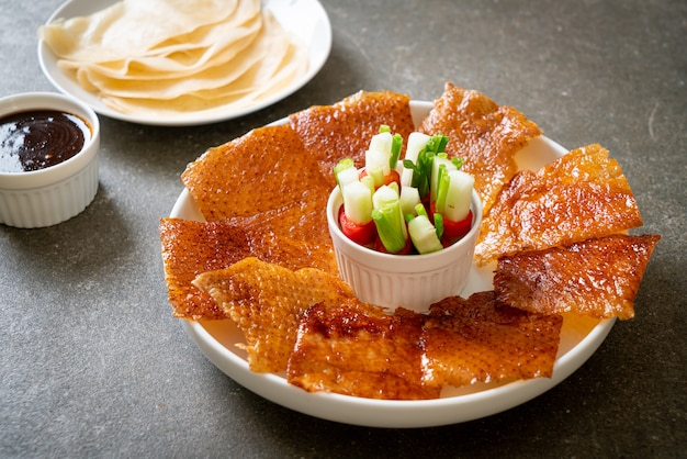 Утка по-пекински - китайская кухня
