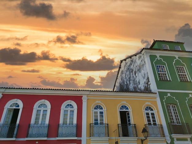 Pelourinho historic center of salvador bahia brazil.