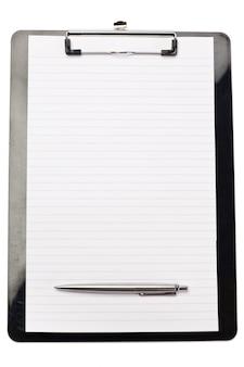노트 패드 하단의 펜