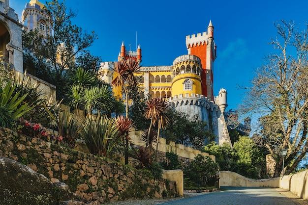 ポルトガル、シントラのペーナ宮殿-世界遺産