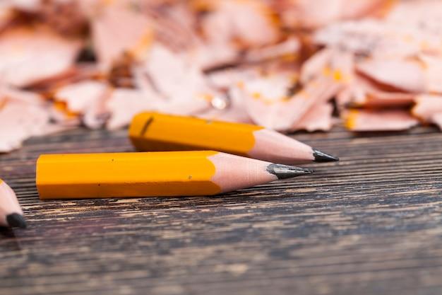 샤프닝 후 연필